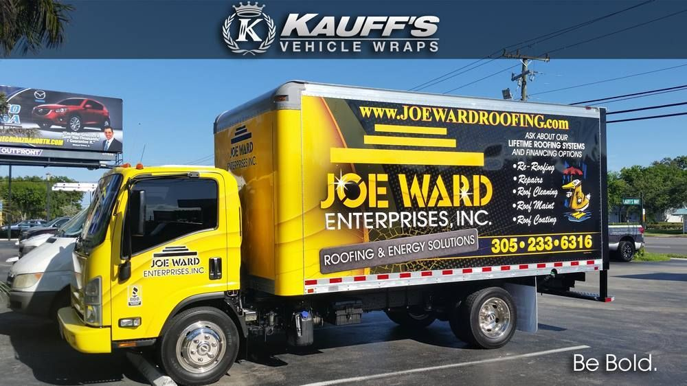 Nice Commercial Box Truck Wrap In 3m Ij180cv3 8518 Thx Kauff S Kauffswraps Com Car Wrap Trucks Commercial Vehicle
