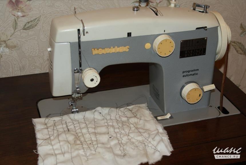 Инструкция по эксплуатации машинки швейной веритас