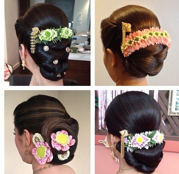 Thai Wedding Hairstyle Cr Nongchat Wedding In 2019