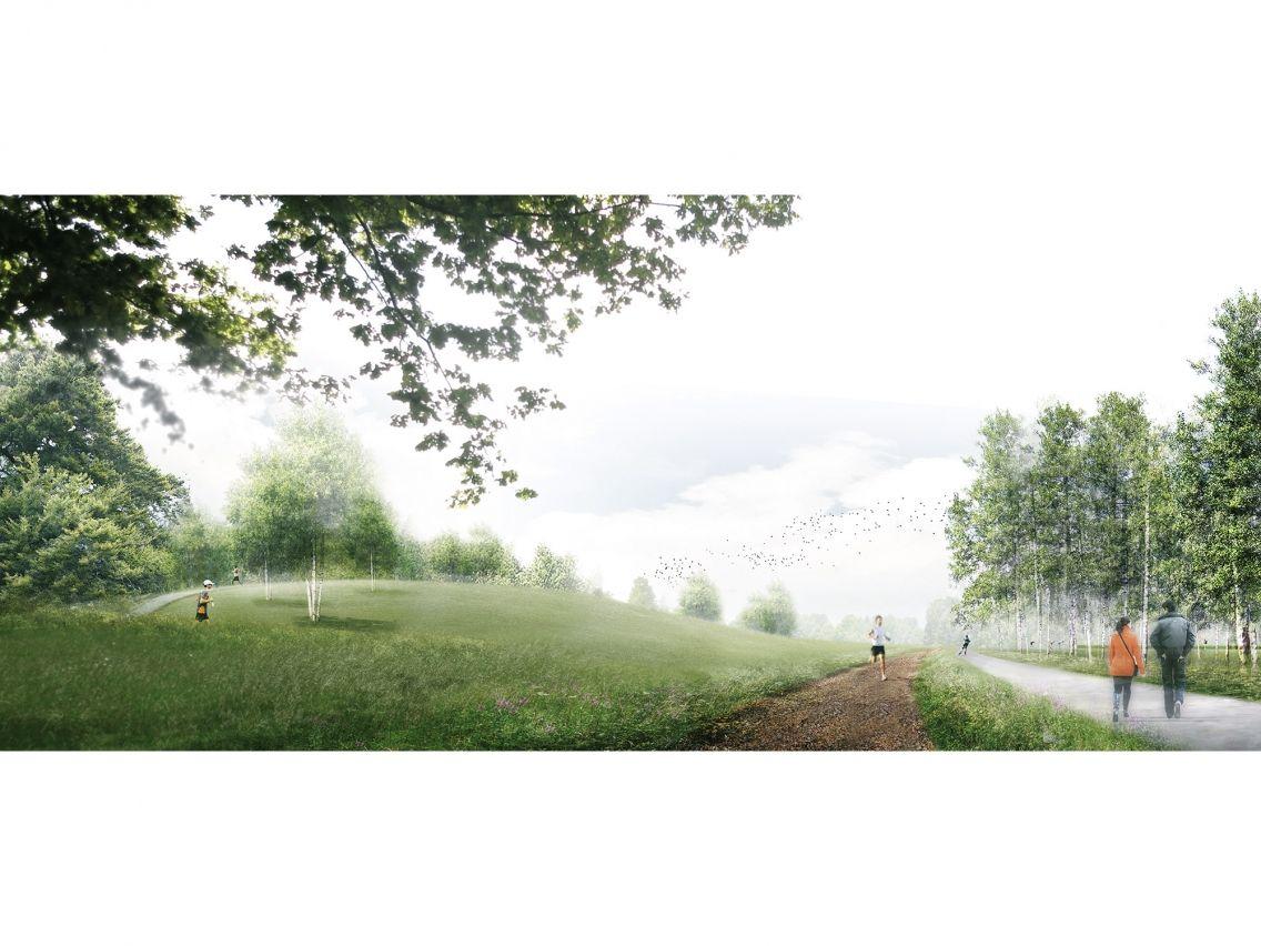 Sporting Estate/ Sportlandgoed Grootschijn - Ziegler | Branderhorst. #render