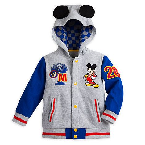55c0f06e7b68 Mickey Mouse Fleece Jacket for Boys - Mickey and the Roadster Racers ...