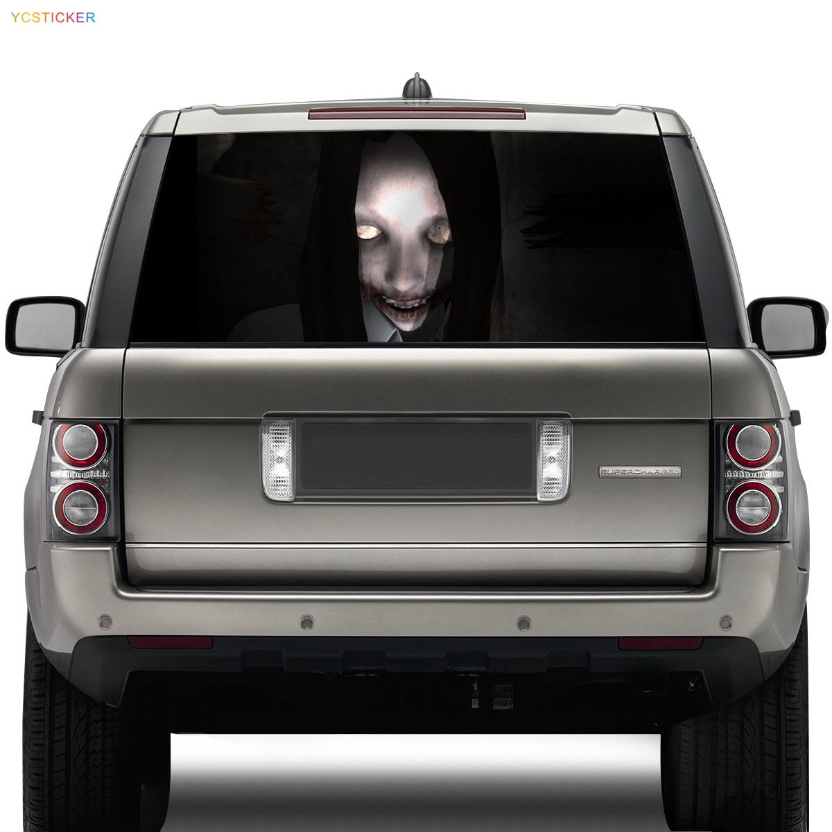 Women ghost car window stickermikiycsticker com
