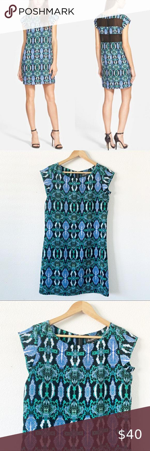 Sam Edelman Blue Green Snake Print Shirt Dress Sam Edelman Blue Green Snake Prin… – Summer outfits