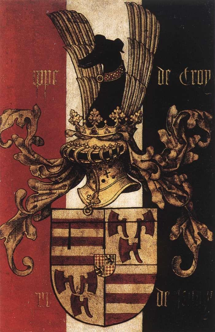 Philippe de Croy (reverse side) c. 1460 Museum voor Schone Kunsten, Antwerp