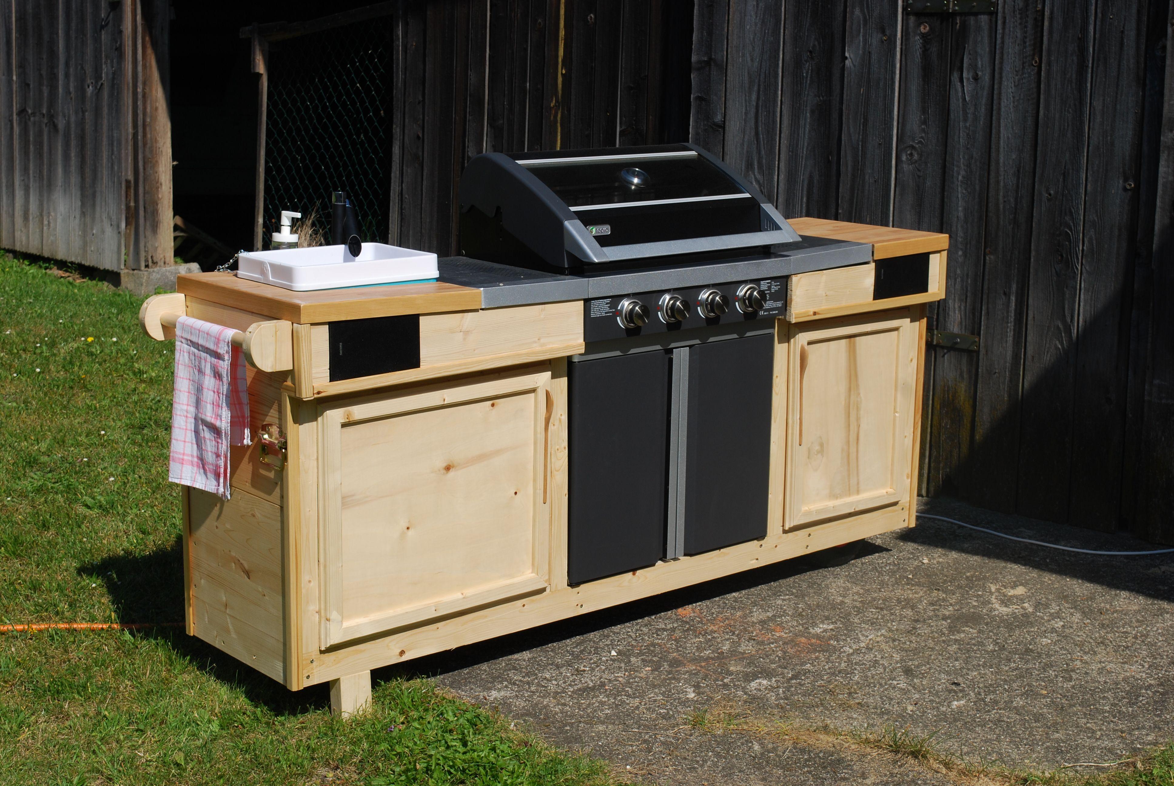 Fertige Outdoor Küche Diy Outdoorküche Ikea Hack Rut Morawetz