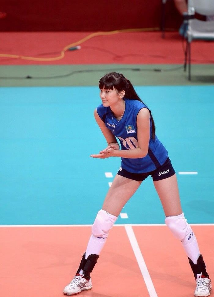 Sabina Altynbekova Atlet Bola Volley Kazakhstan Yang Jelita Female Volleyball Players Female Athletes Beautiful Athletes
