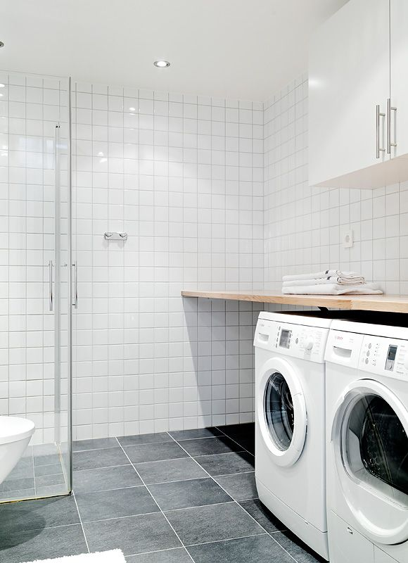 Pin By Cindy Broaddus On Laundry Laundry Bath Combo Laundry In Bathroom Laundry Room Bathroom Basement Laundry Room