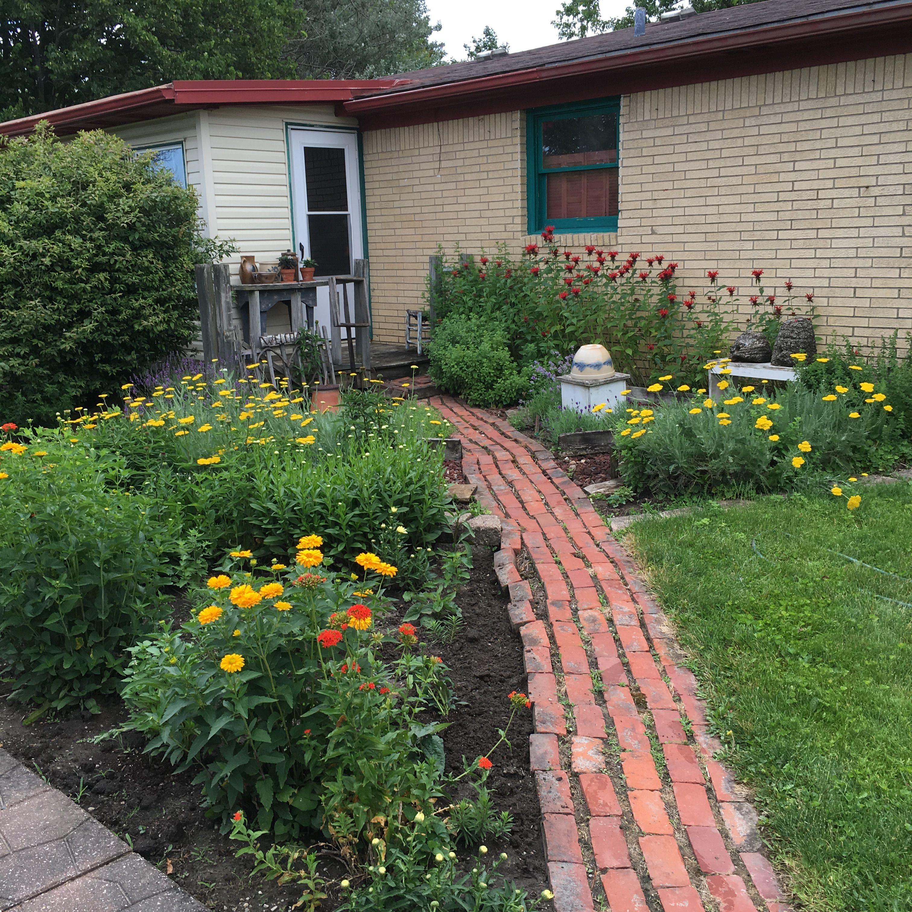 summer garden summer gardengarden shedsindianahomesteadprimitiveporches - Garden Sheds Indiana