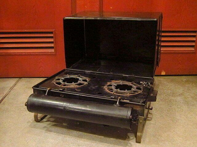 Details about Coleman No 2 Camp Stove Metal Black Rare Vintage