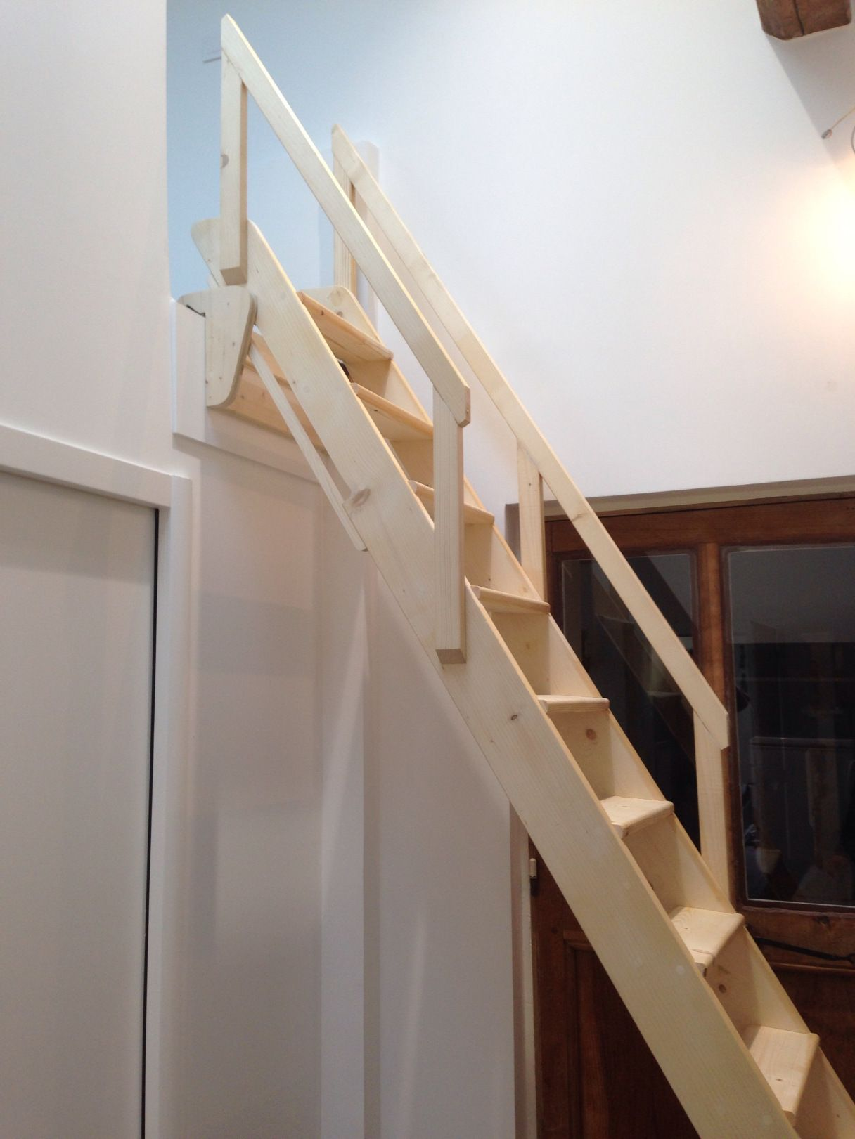 echenne meunière escamotable  echelle meunier escalier