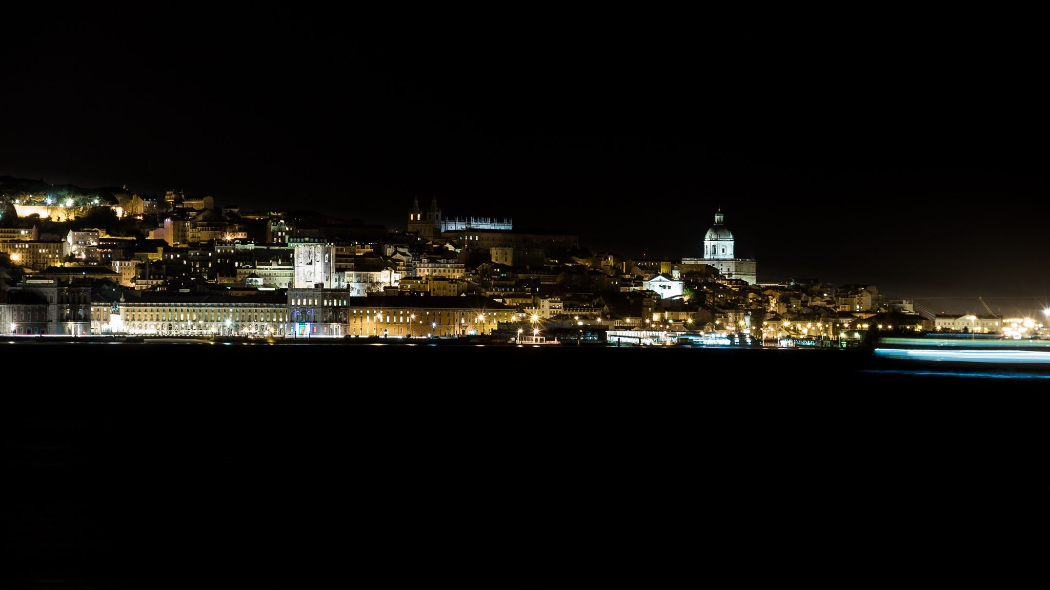 Lisbon in the night by Manuel Adrega on 500px