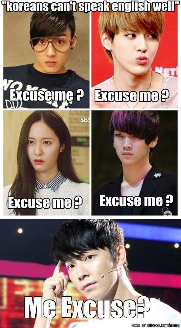 K Pop English Memes Kpop Funny Kpop Memes