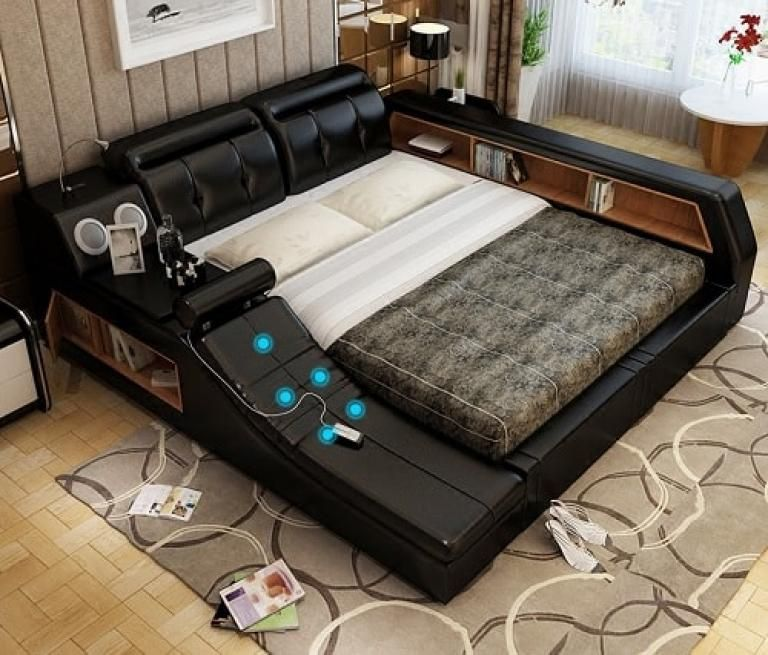 Admirable Smart Small Bedroom Solution Smart Bed Tatami Bed Modern Bedroom Design