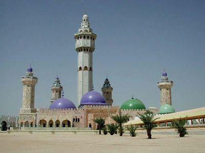 صور لأجمل مساجد العالم مسجد طوبى السنيغال Landmarks Taj Mahal Building