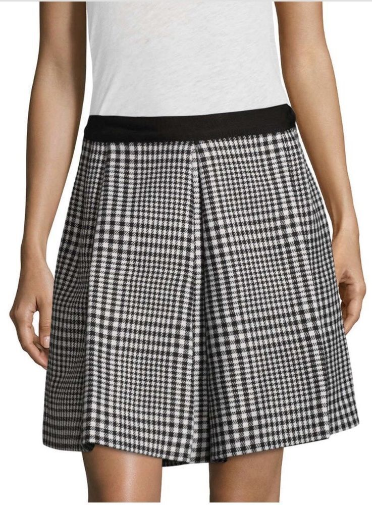 6812112c9 Marc Jacobs Checkered Mini Skirt Black Multi Plaid Size 4 NWT #fashion  #clothing #shoes #accessories #womensclothing #skirts (ebay link)