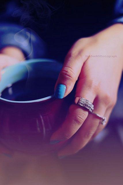Coffee blues.