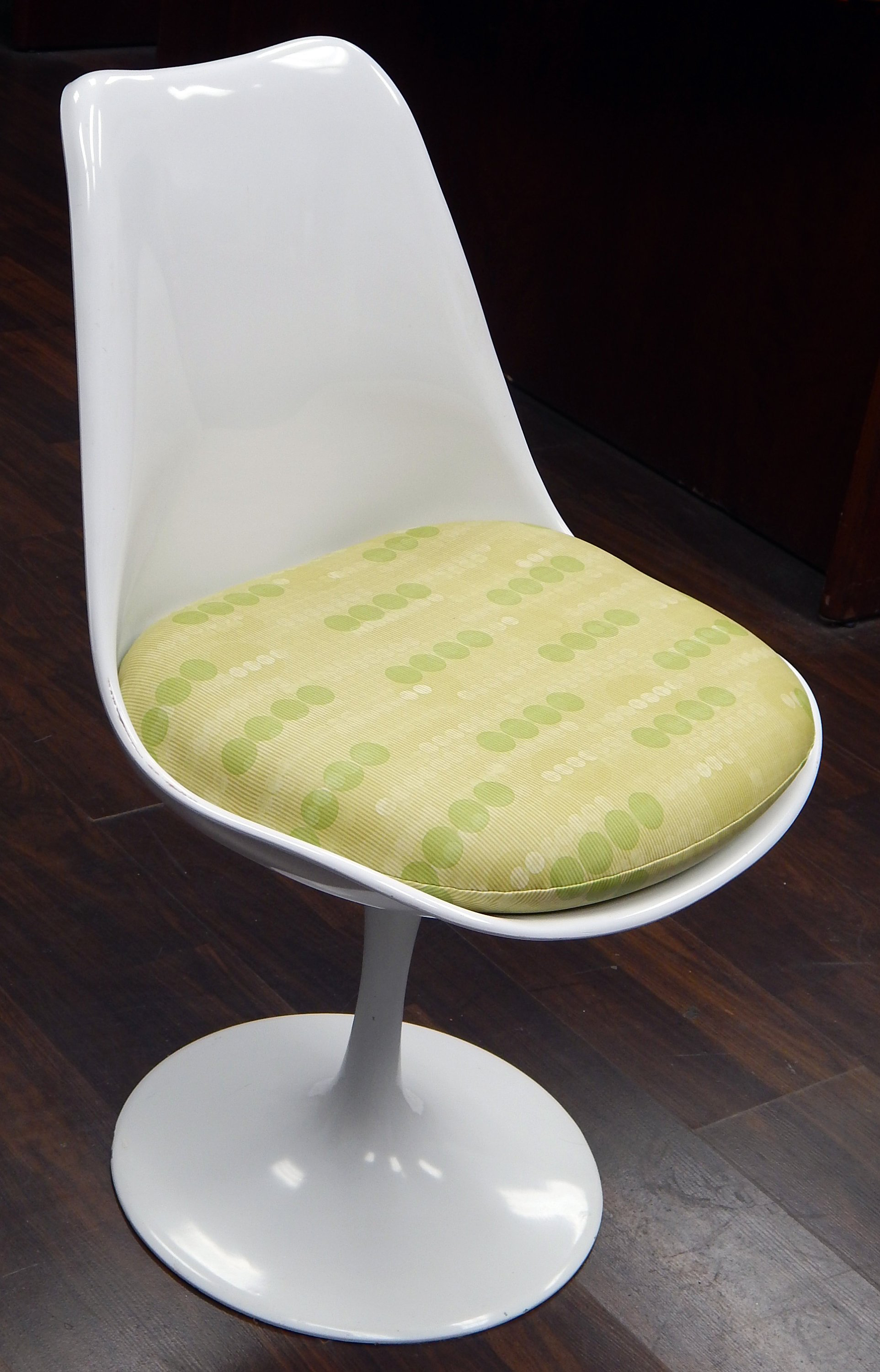 Replacement Cushion For Saarinen Tulip Side Chair Patterned