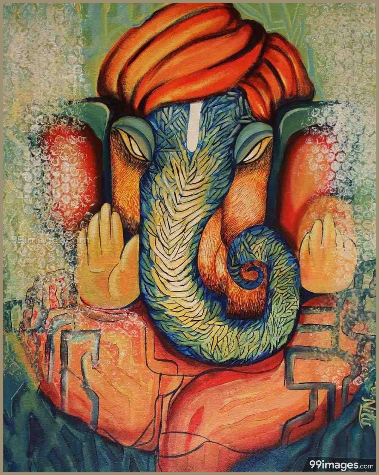 Lord Ganesha HD Wallpapers/Images (1080p) 7070
