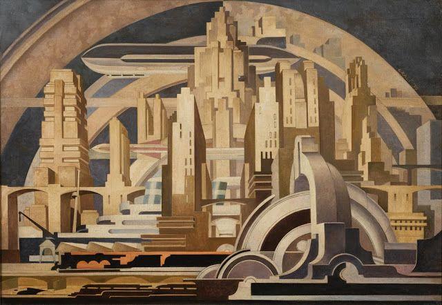 MID-CENTURIA : Art, Design and Decor from the Mid-Century and beyond: Tullio Crali Aeropiturra