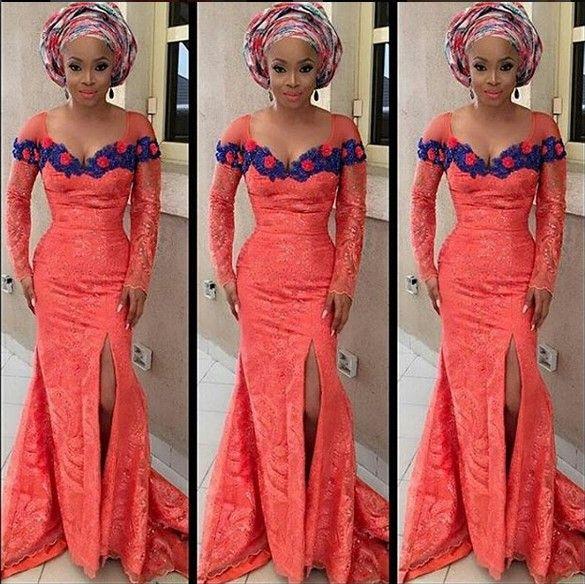 Top Ten Gorgeous Aso Ebi Styles You Should Rock To Nigerian Wedding ...