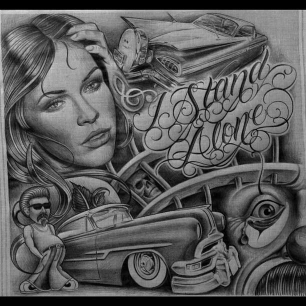 Lowrider Art, Chicano