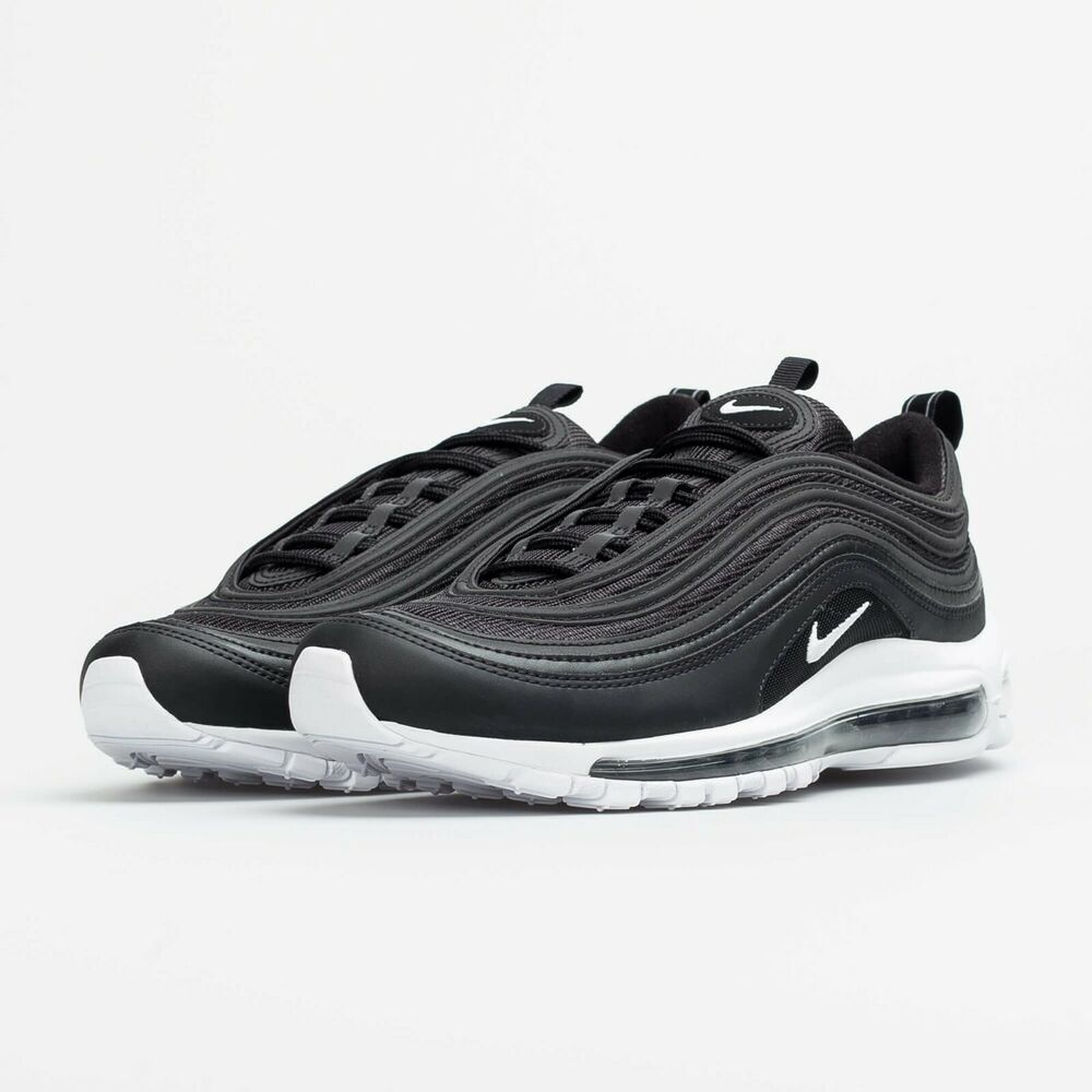 Nike Air Max 97 Gs Trainers Black Mono Og Qoo10