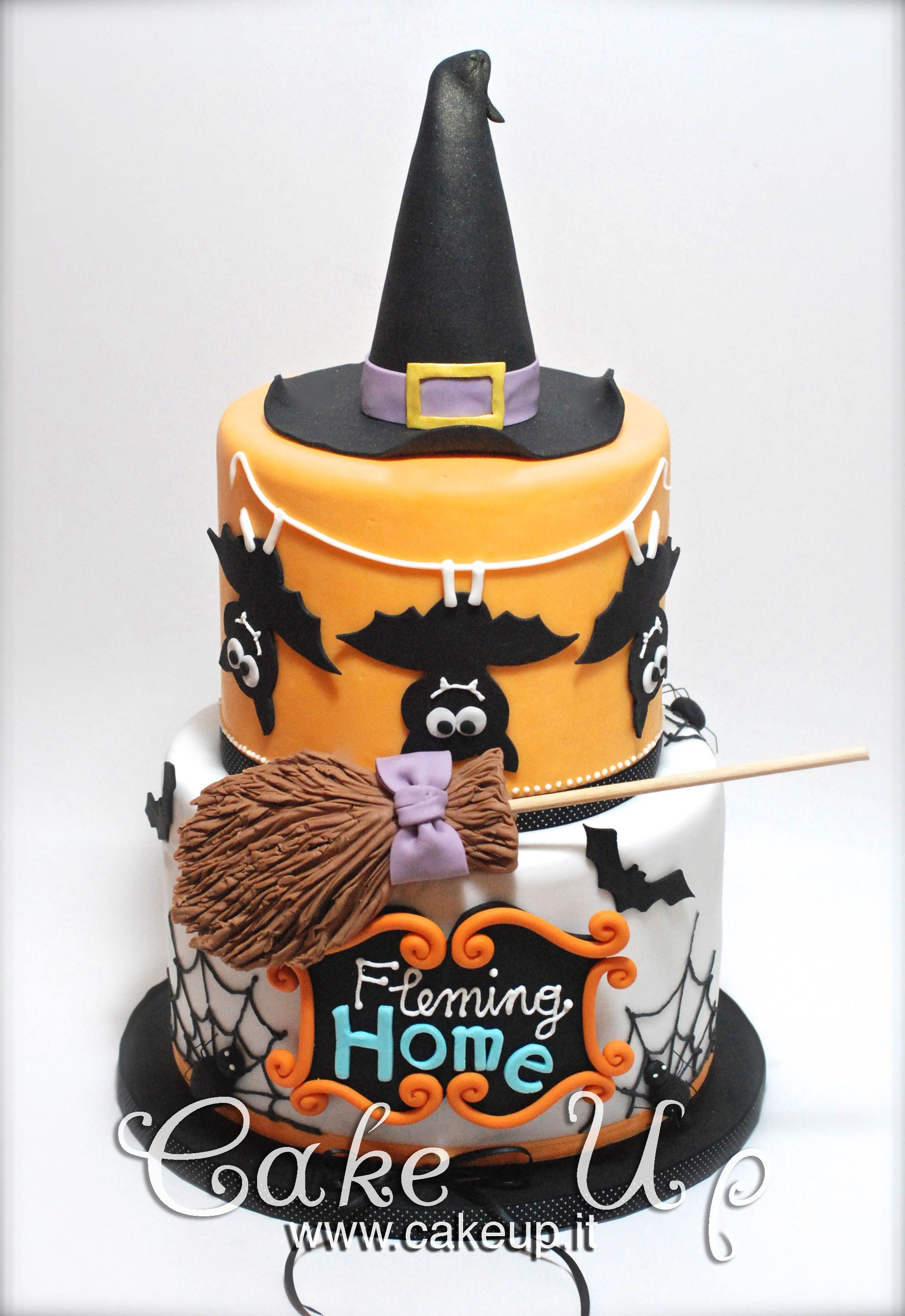 HALLOWEEN WITCH HAT CAKE | Halloween/Fall Cakes | Pinterest | Hat ...