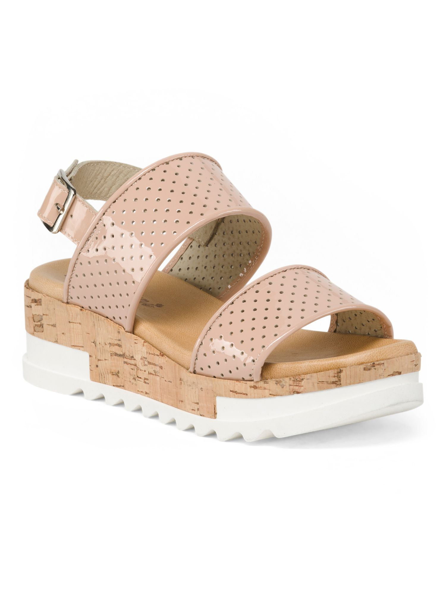 715d9d80c19 Made In Italy Patent Leather Sandals | Products | Leather sandals ...