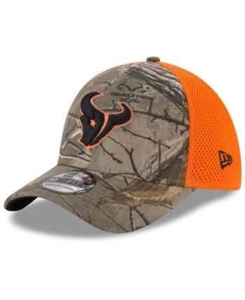 meet 0dbe2 ab1ce New Era Houston Texans Realtree Hunter Neo 39THIRTY Cap - Brown L XL