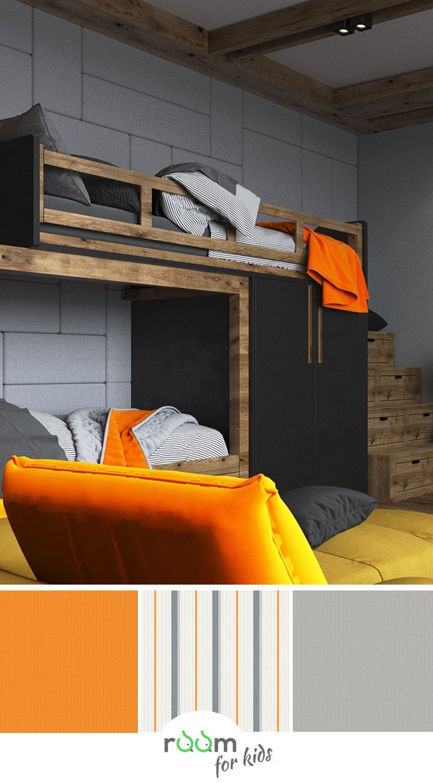 Stylische Gestaltungsidee für ein Jugendzimmer ...