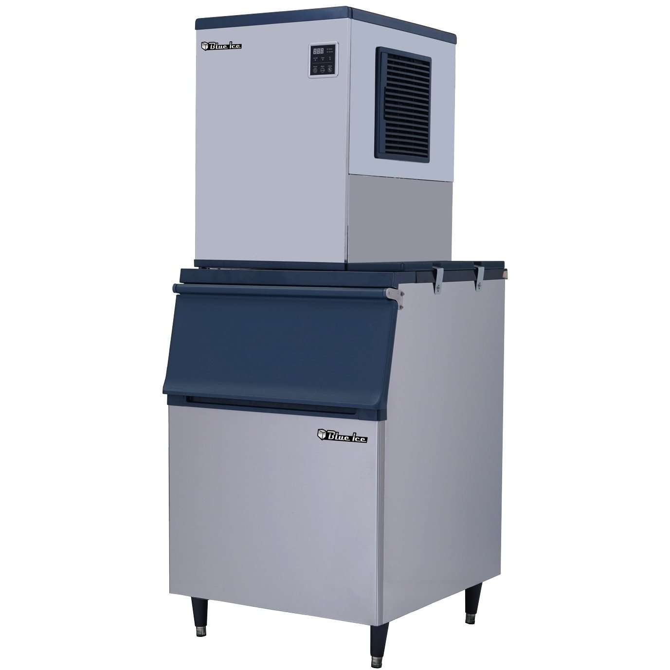 Blue ice commercial ice maker lbs commercial and faucet