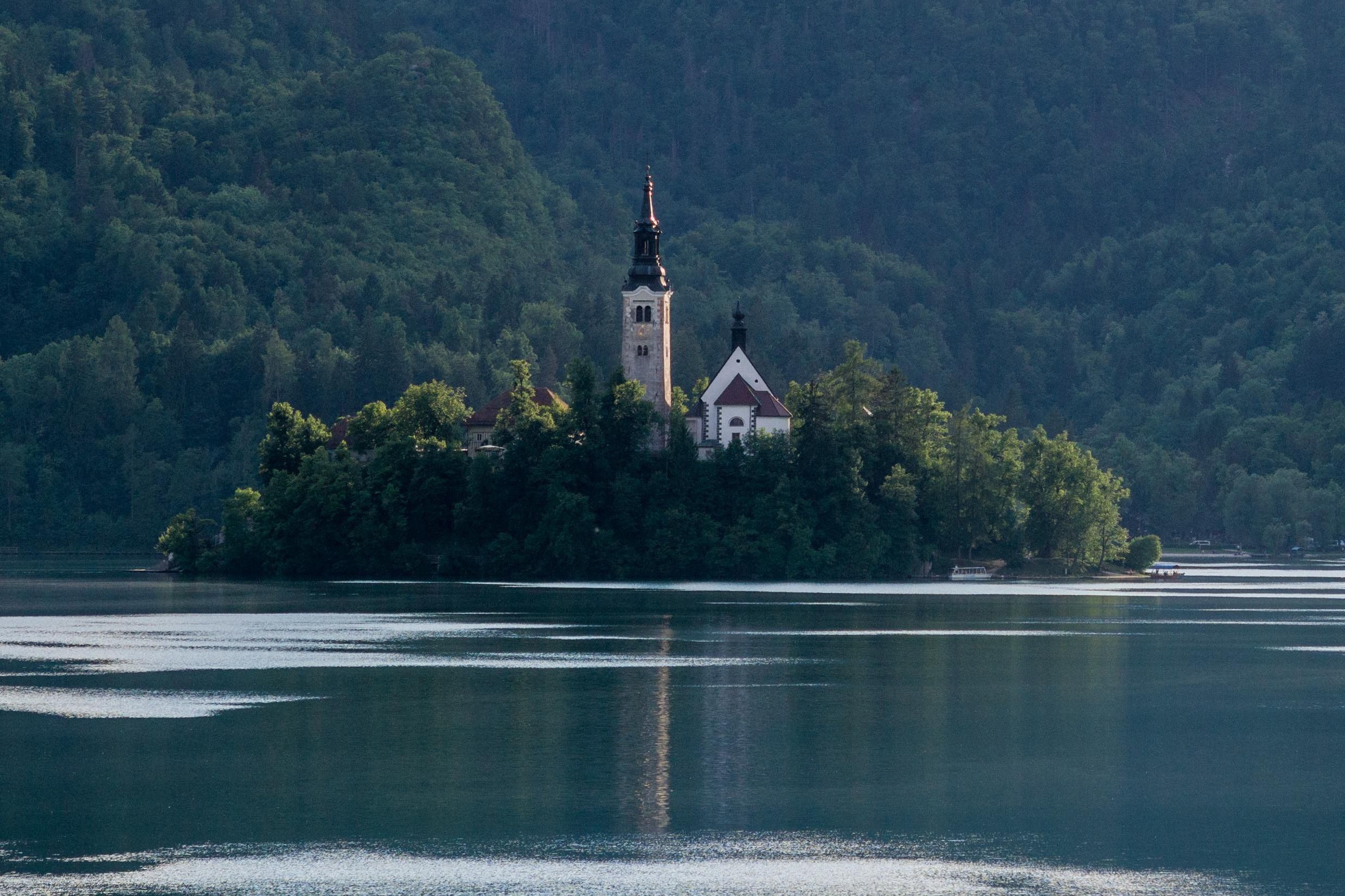 Pin On Architecture R Beautiful photo church on bled island