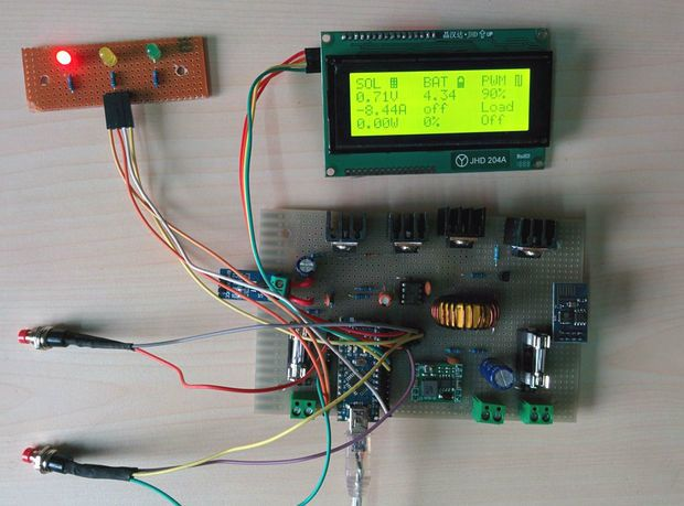 ARDUINO MPPT SOLAR CHARGE CONTROLLER (Version-3 0) | Projects to Try