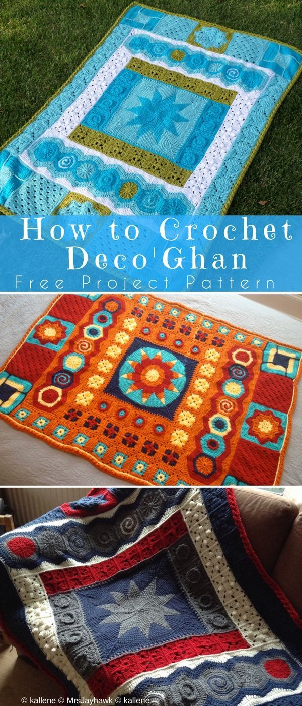 How to Crochet Afghan – Best 10 Diy #freecrochetPatterns #afghan ...