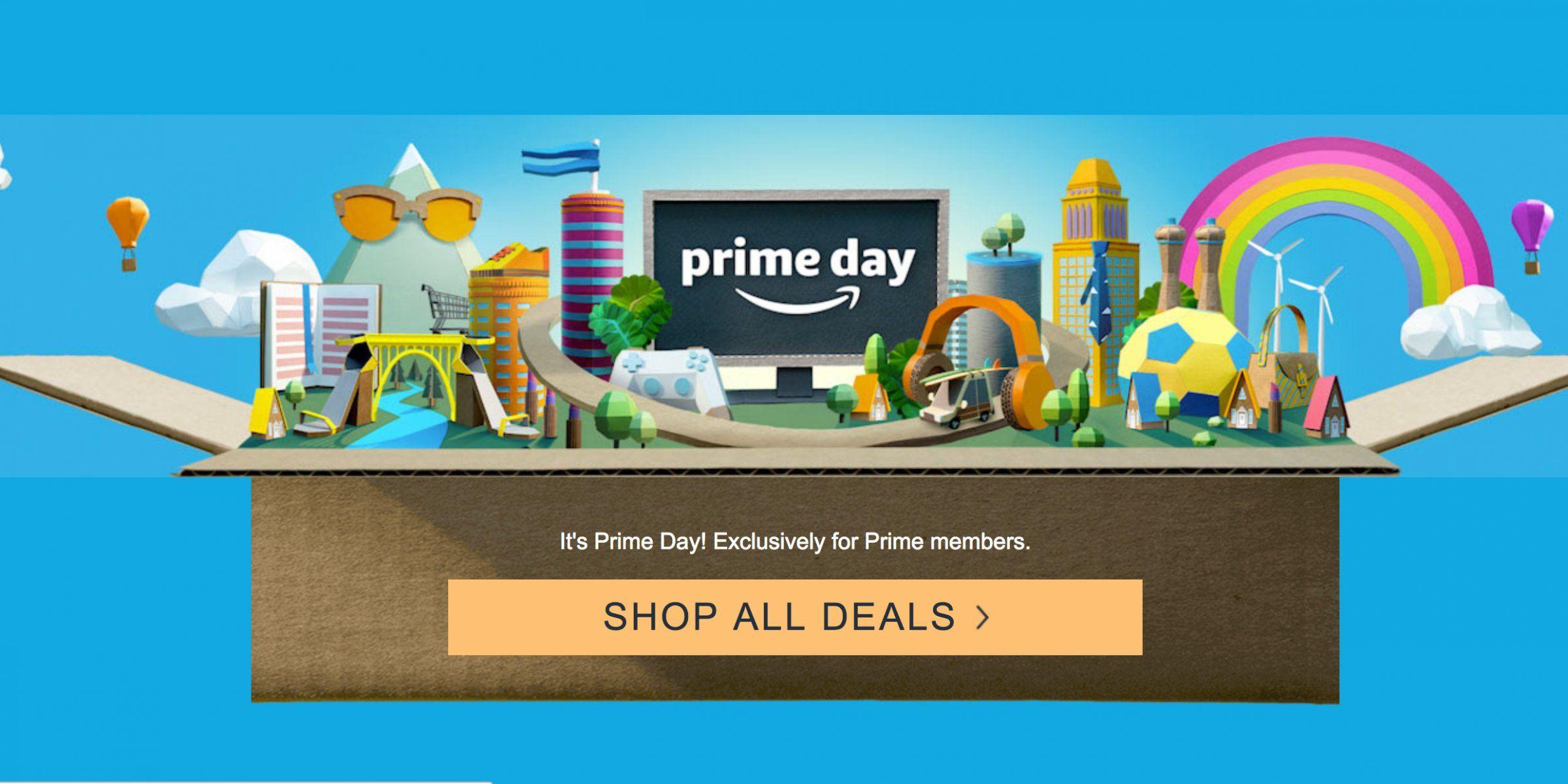 Amazon Down On Prime Day