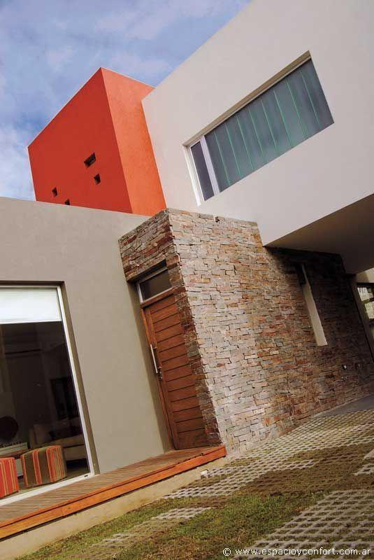 36 fachada de casa rustica y moderna casas de piedra - Exteriores de casas rusticas ...