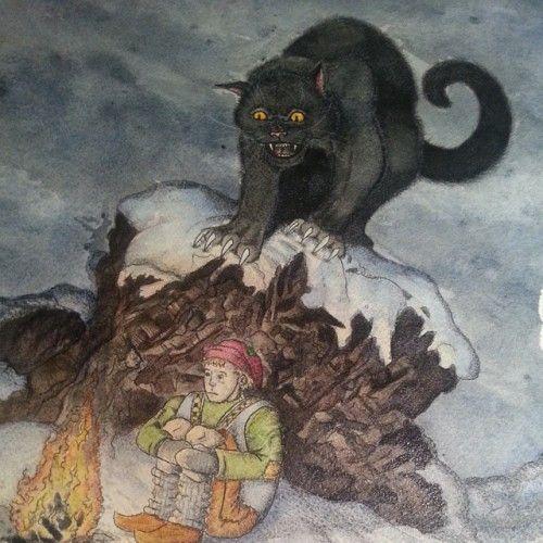 Image result for yule cat
