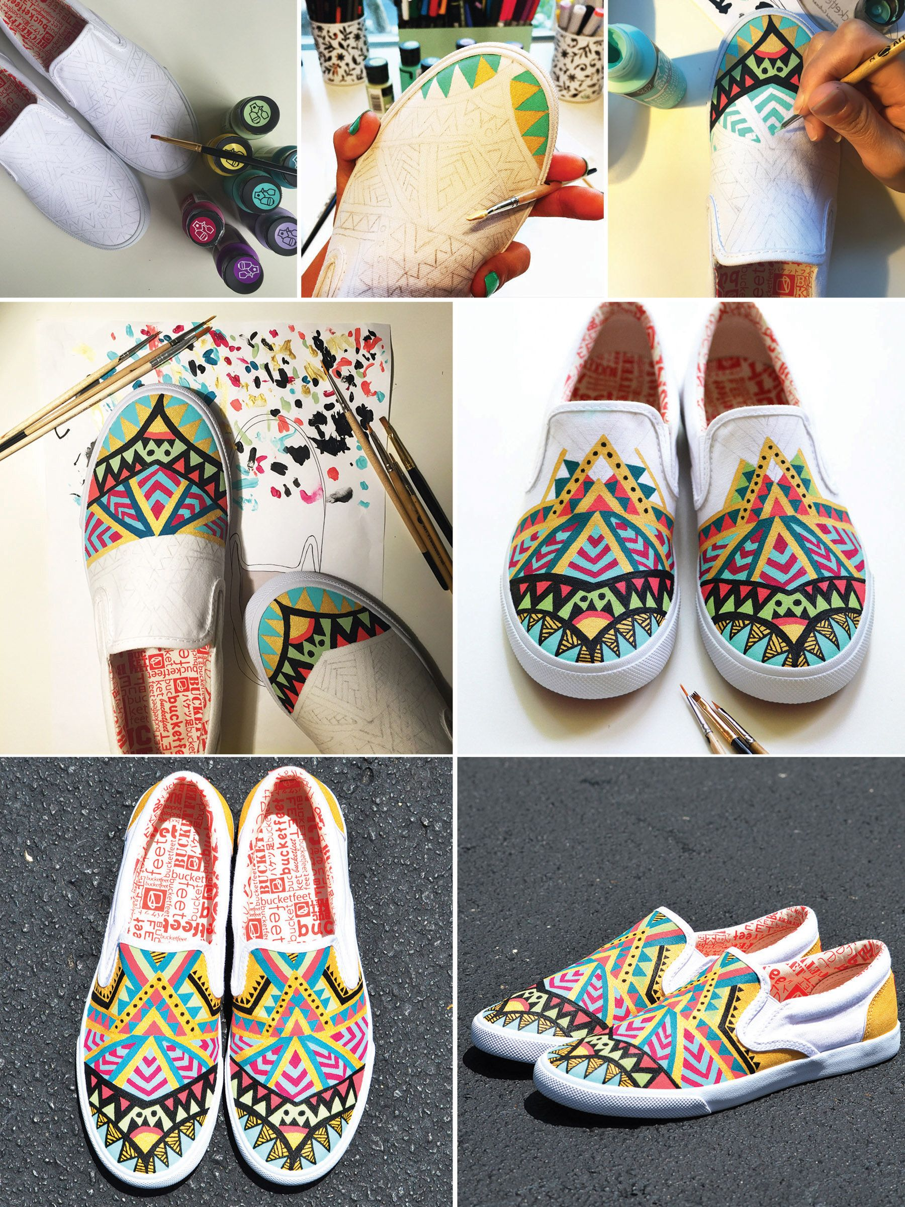 Custom painted shoes, Diy shoes