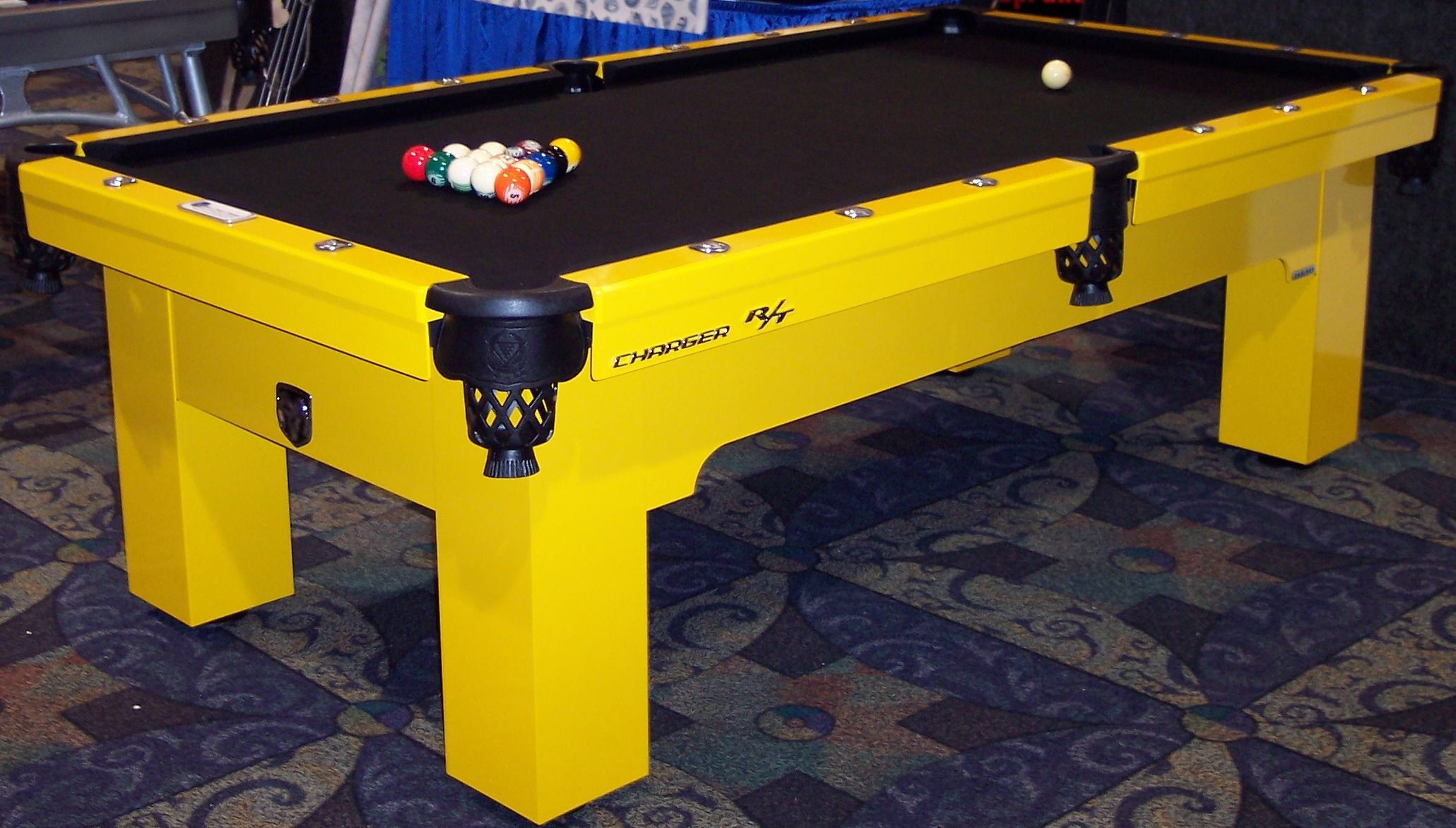 A Dodge Charger R/T themed pool table!   Wonderful World of ...