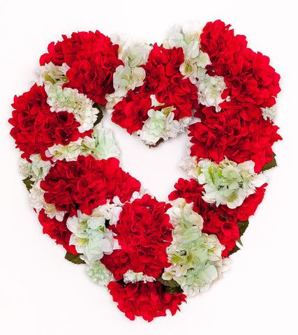 Heart Wreaths - Heart Shaped Wreaths - Valentine Wreath | Darby Creek Trading