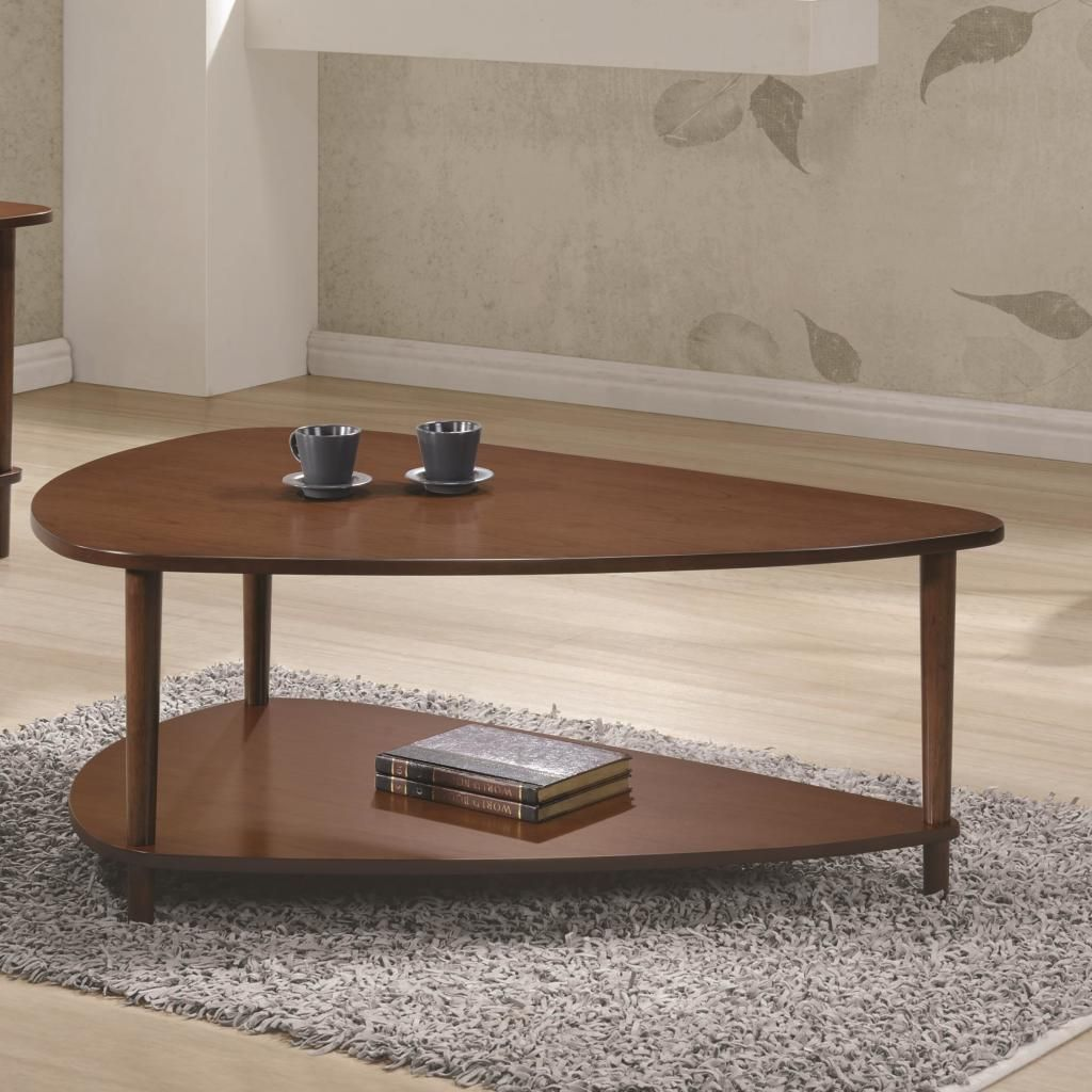 70405 Contemporary Coffee Table With Bottom Shelf Quality Furniture At Affordable Prices In Philadelphia Main Line Pa Triangle Coffee Table Coffee Table Contemporary Coffee Table [ 1024 x 1024 Pixel ]