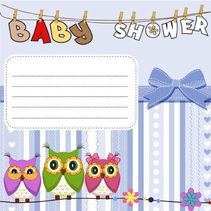 Descargar Gratis Invitaciones Para Baby Shower Niño Buho Baby Shower Invitaciones Invitaciones Invitaciones Para Baby