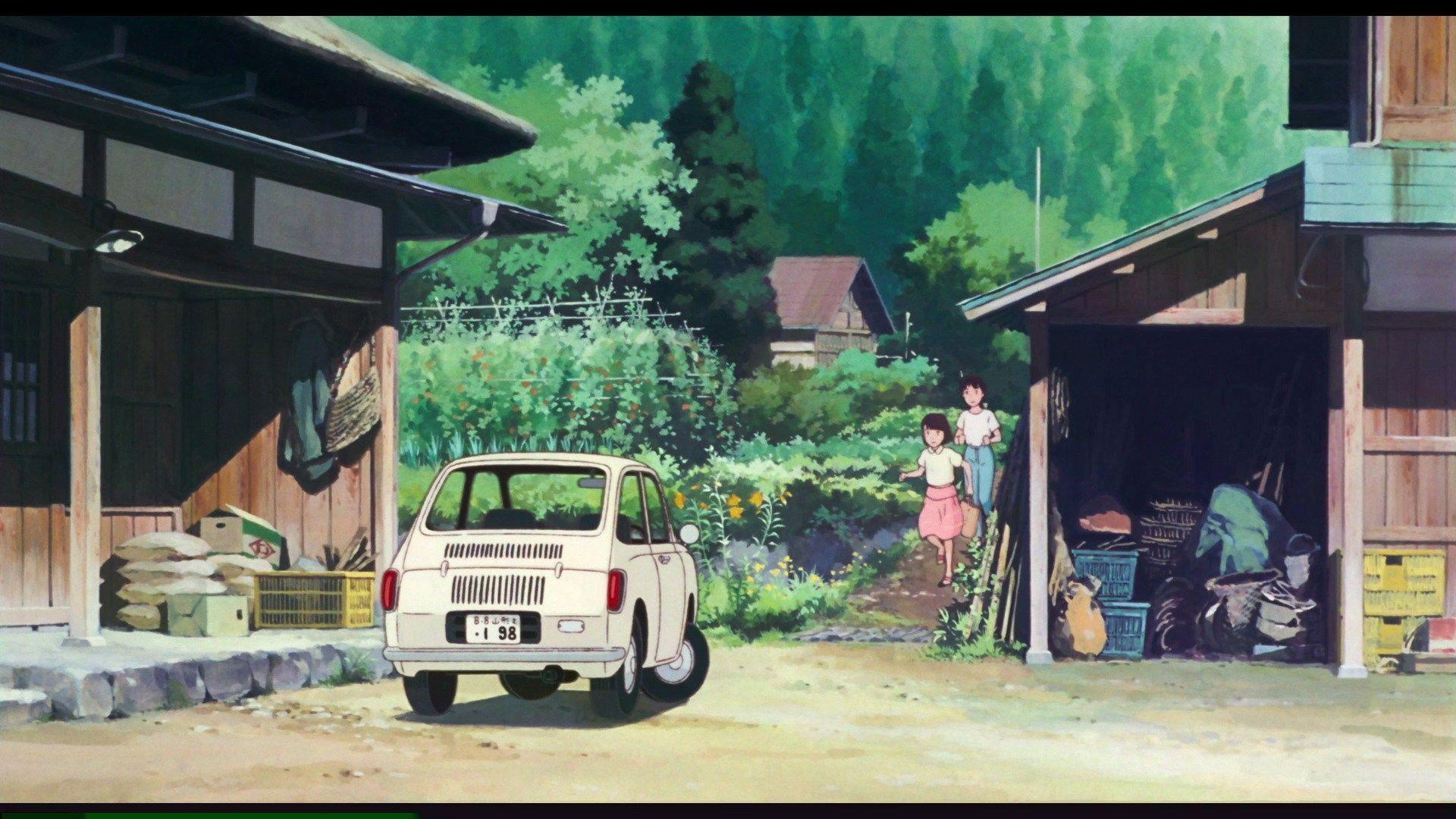 Only Yesterday (1991) Animation Screencaps Studio