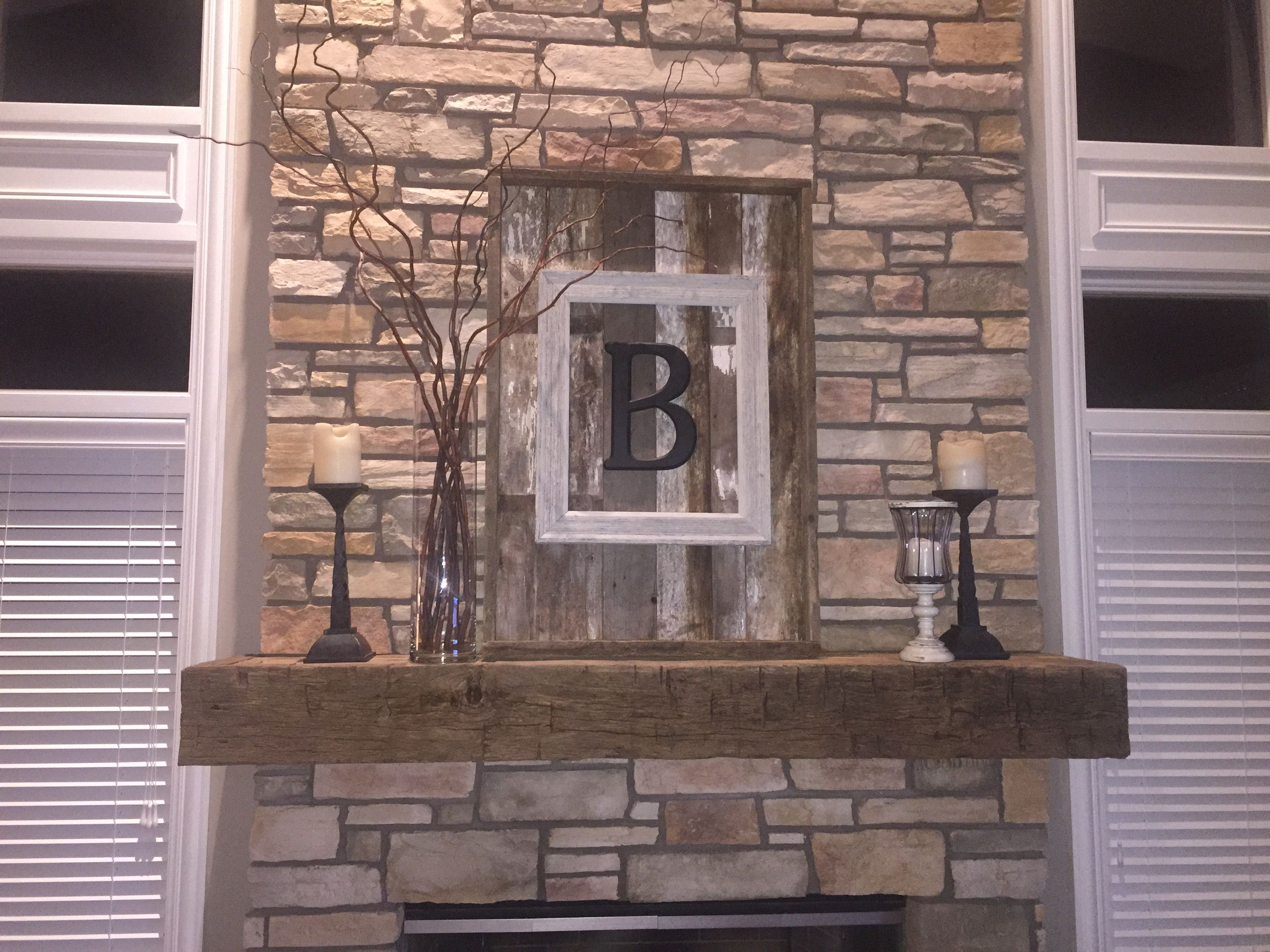 Diy mymantel makeover fireplace decor home decor