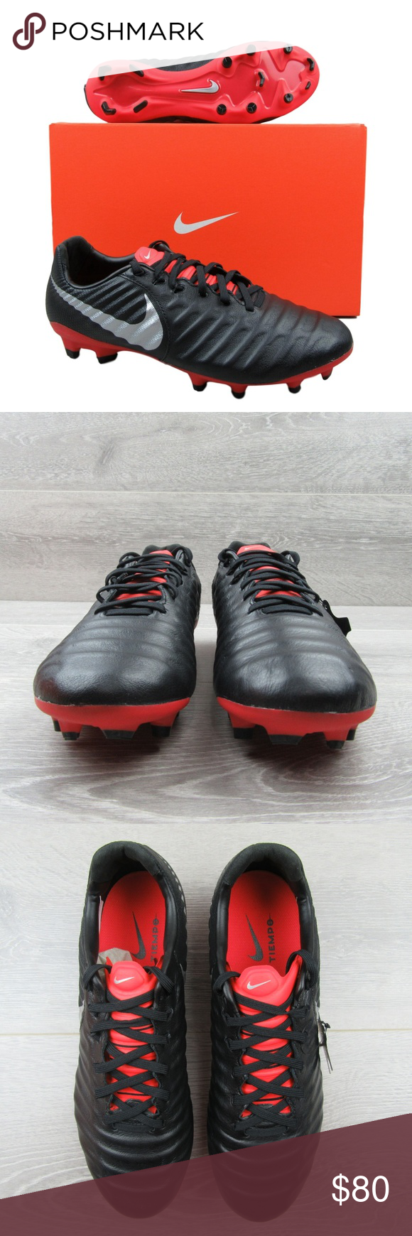 Nike Tiempo Legend 7 Pro Fg Soccer Cleats Soccer Cleats Black Nikes Nike