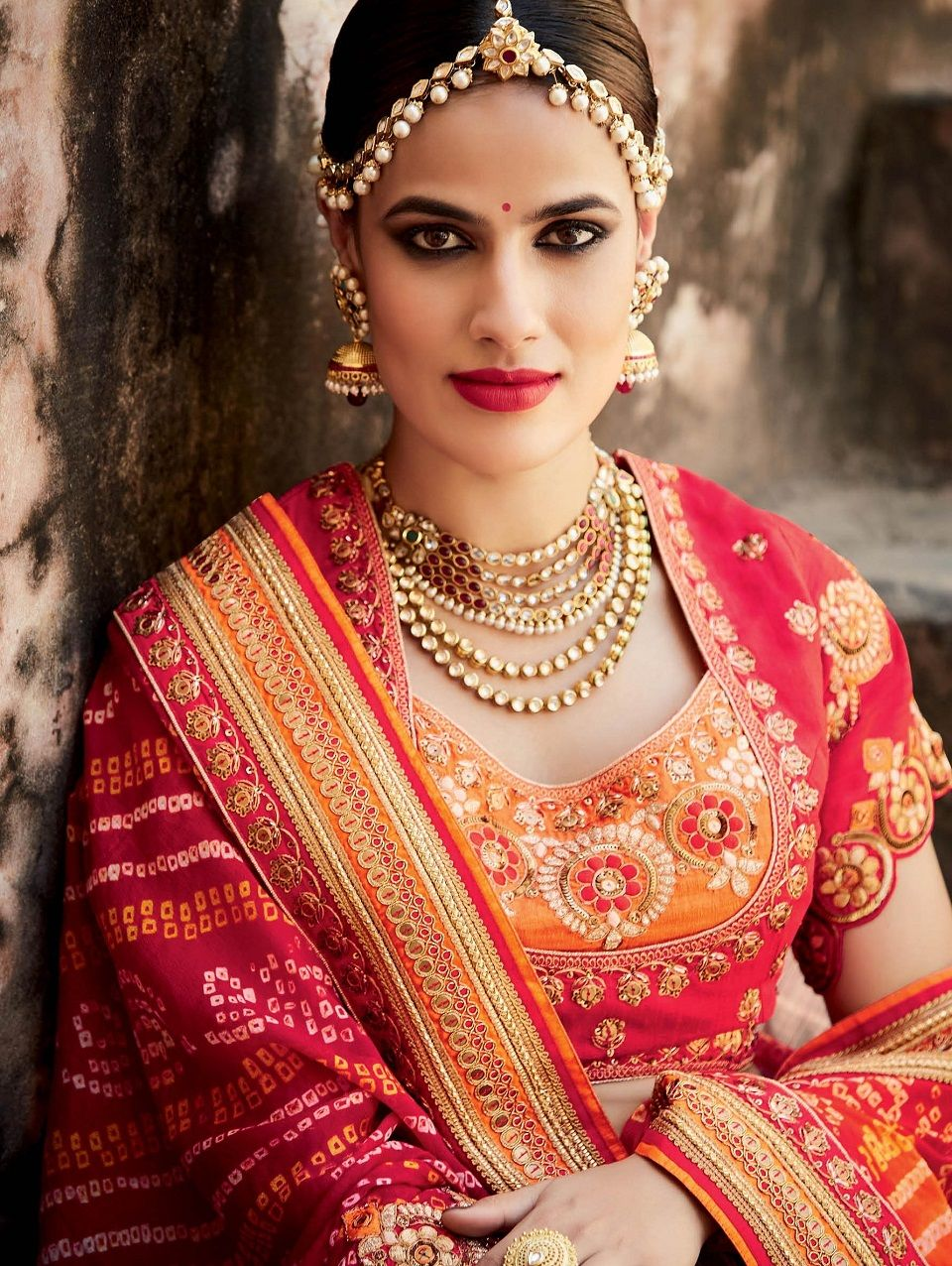 Wedding saree blouse design red indian wedding saree latest designs u trends  collection