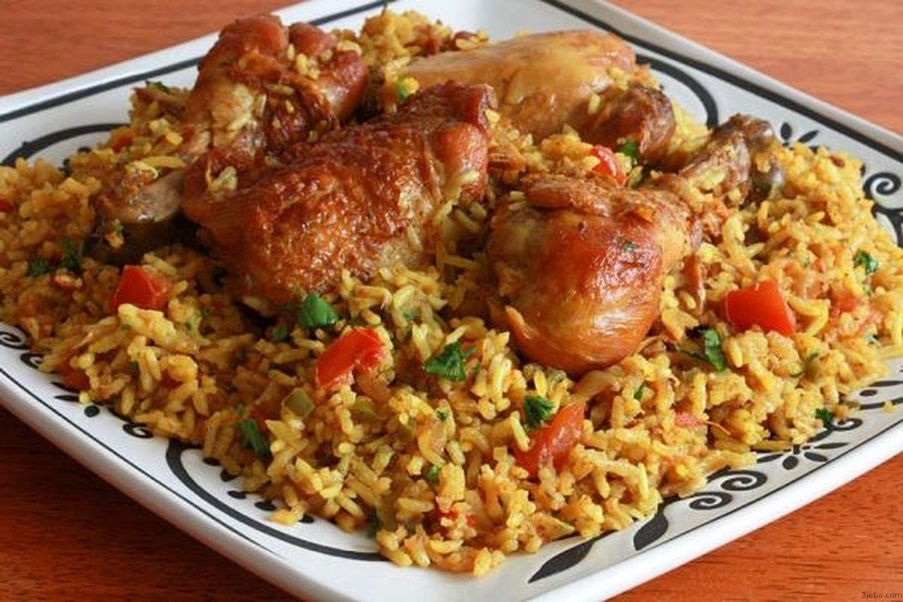 طريقة عمل الكبسة Chicken And Rice Dishes Chicken Spices Chicken Rice