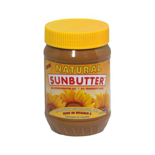 My favorite!!! http://cheune.com/yummy SunButter Natural Sunflower Seed Spread, 16-Ounce Plastic Jars (Pack of 6)