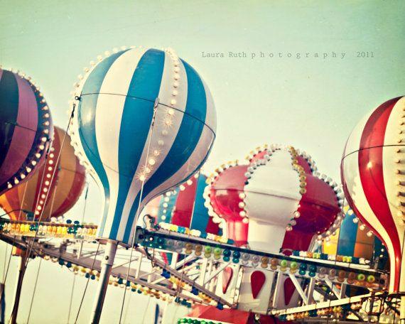 Carnival Photography Vintage Inspired Photography By Dreamyphoto 45 00 Carnival Photography Fair Rides Summer Art