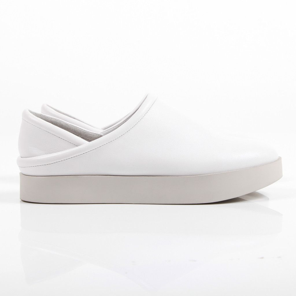 Melissa Slip On White